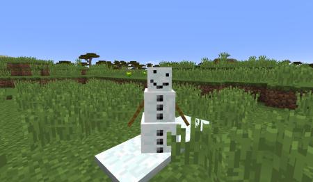 Ce qu'il se cache sous le masque des bonhommes de neige !