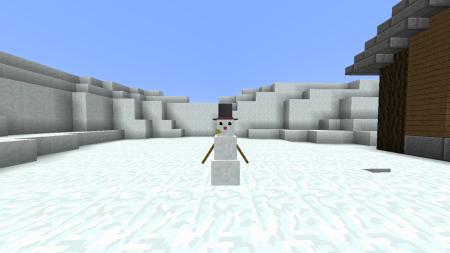 Calmez-vous petites filles. Ce n'est pas Olaf !