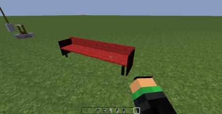 Sofa en rouge