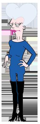 M'man, personnage dans la série futurama