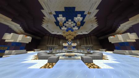 Le lobby. Plutôt beau