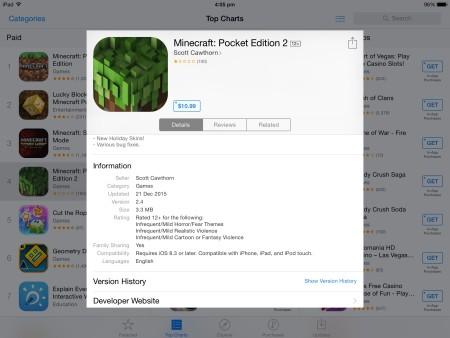 Comme quoi, un simple titre comme celui de Minecraft attire du monde même sans annonce de la part des développeurs!