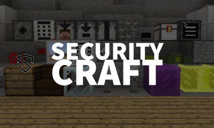 SecurityCraft – Mod : 1.7.10 → 1.17.1