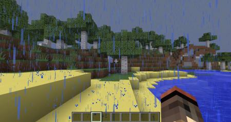 La pluie dans un environnement pareil, accentue les frissons du joueur pour lui donner un semblant de réalisme.