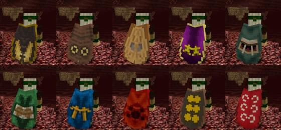 Les Elytras fusionnées avec des capes.