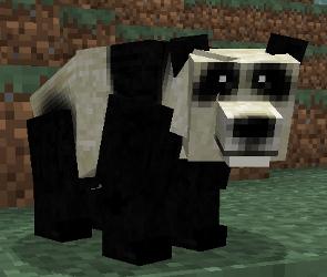 Un panda du mod Mo'Creatures