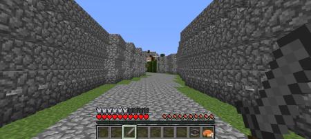 Devant un labyrinthe, autour de moi des murs qui m'enferment dans cette vallée...