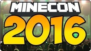 Minecon 2016 annoncée !
