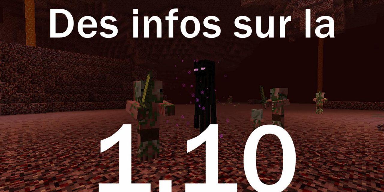 Des infos sur la 1.10 ?