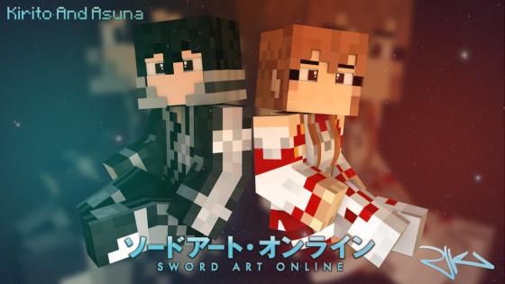 sword_art_online_minecraft_style_wallpaper_by_blazingfrostgfx-d8a2rc0