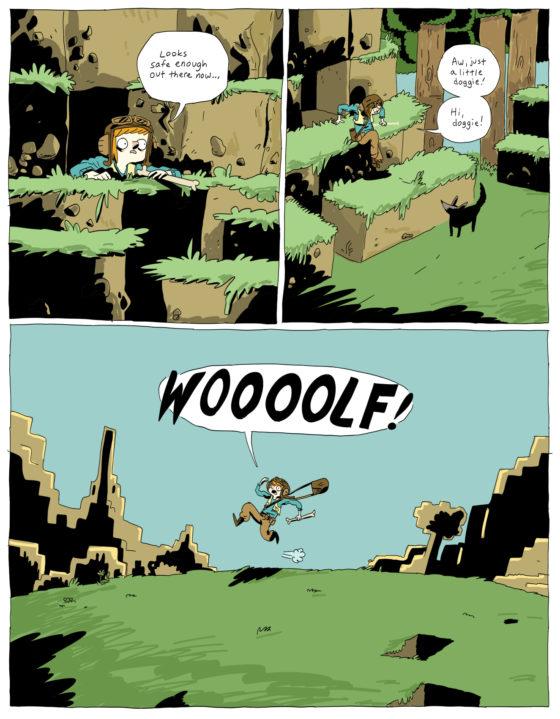 Comics minecraft 9