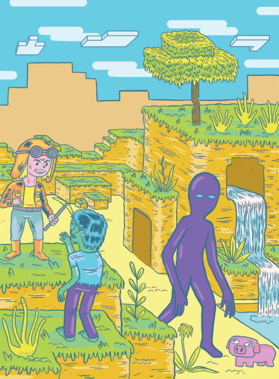 Joseph Harmon comics minecraft