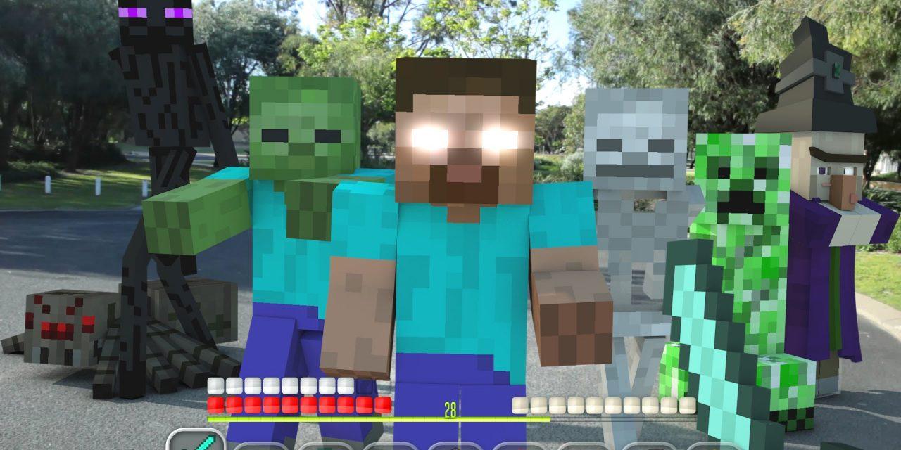 Minecraft en réalité virtuelle : immersion totale ?