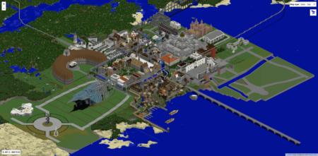 Un aperçu de la ville actuelle