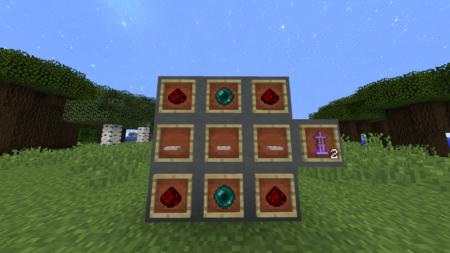 Comme vous pouvez le voir, le craft donne 2 ascenseurs.