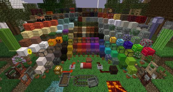 Une autre vue des blocs