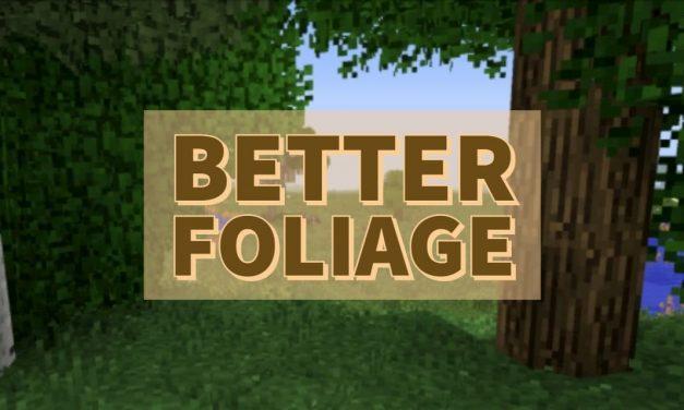 [Mod] Better Foliage – 1.7.10 → 1.14.4