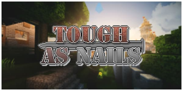 [Mod] Tough As Nails – 1.9.4 → 1.12.2