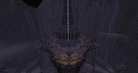 Vous n'atteindrez jamais cette tour à pied, il faut voler.