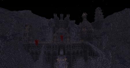 Regardez-donc ce que j'ai trouvé en passant... Si ce n'est pas la forteresse du Roi Sorcier...