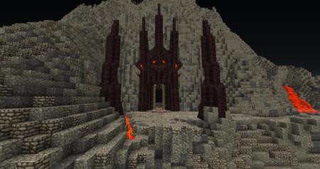 L'entrée de la Montagne et de la Forge.