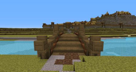 Le pont qui nous mèneras à Edoras.