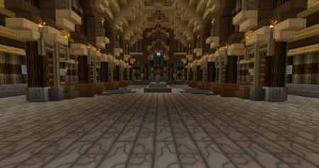 L'intérieur du palais en question