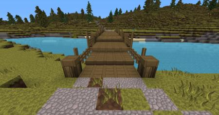 Le pont qui marque la limite avant la forêt