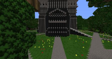 Les portes de la tour