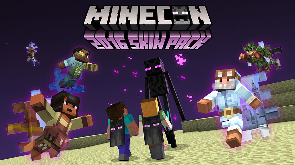 Date de sortie de l'Education Edition et Pack de Skins de la Minecon !