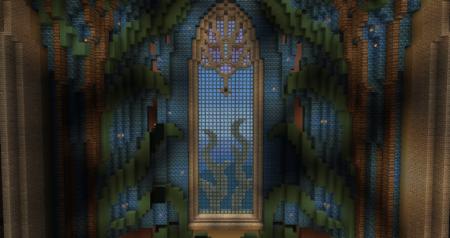 Et ce magnifique vitrail.