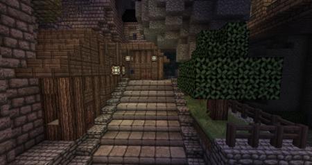Une maison ? Ou un baraquement de gardes ?