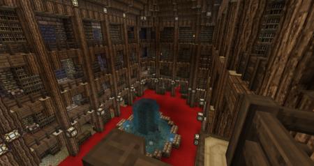 Qui mène juste à la bibliothèque, ouf.