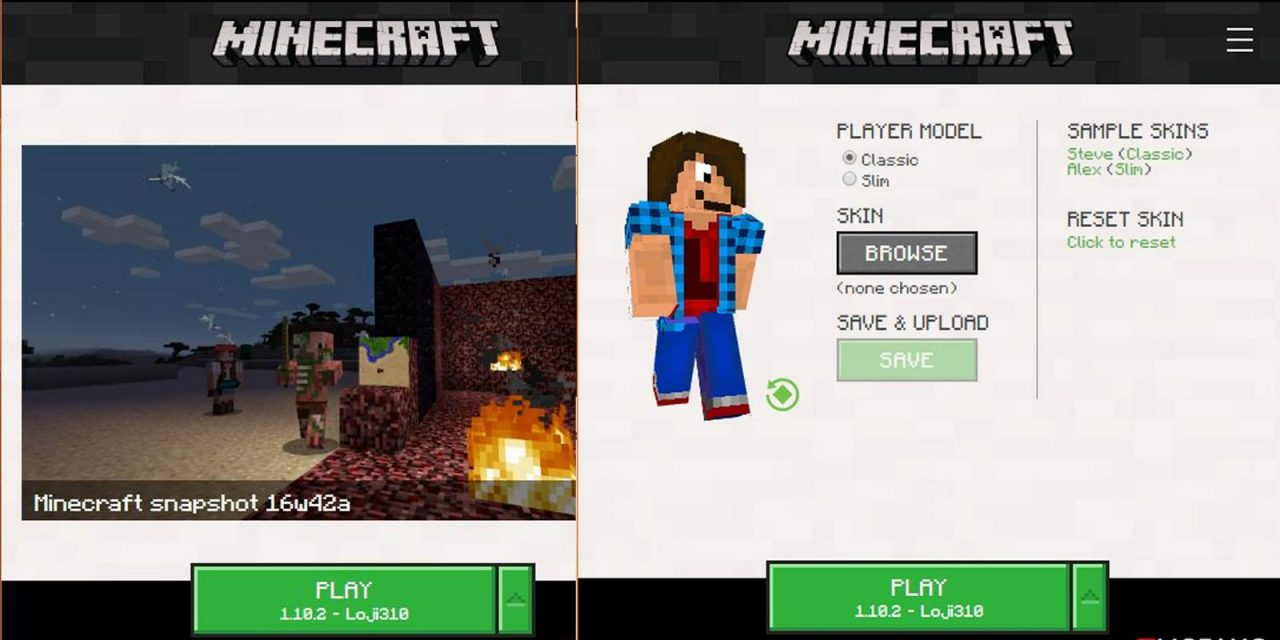 Nouveau Launcher Minecraft en BETA !