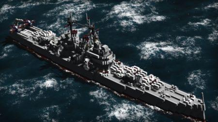 Des navires majestueux...