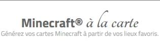 Votre ville sur Minecraft !