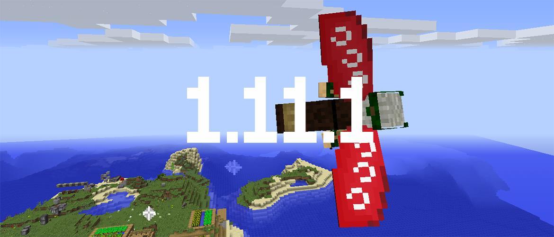 La 1.11.1 : Propulsez vous en Elytra à l'aide de feu d'artifice, dès maintenant !!