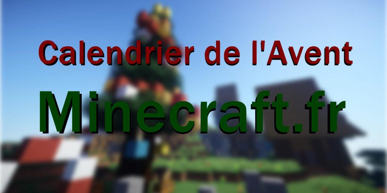 Concours Calendrier de l'Avent Minecraft.fr !