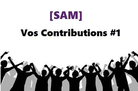 [SAM] – Vos contributions scientifiques #1
