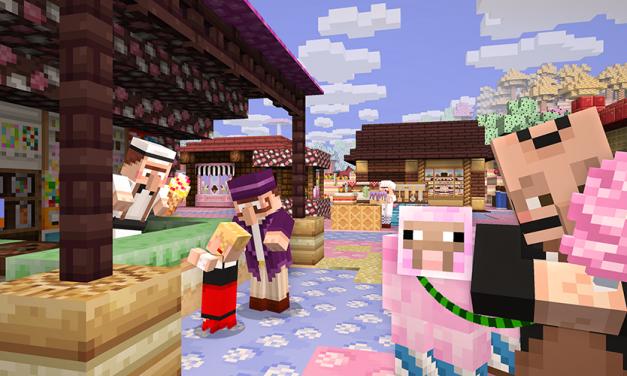 Des nouveautés sur les Éditions Minecraft !