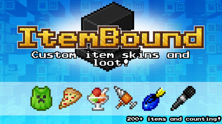 ItemBound : Un Resource Pack qui ne change pas les textures, mais qui en ajoute !