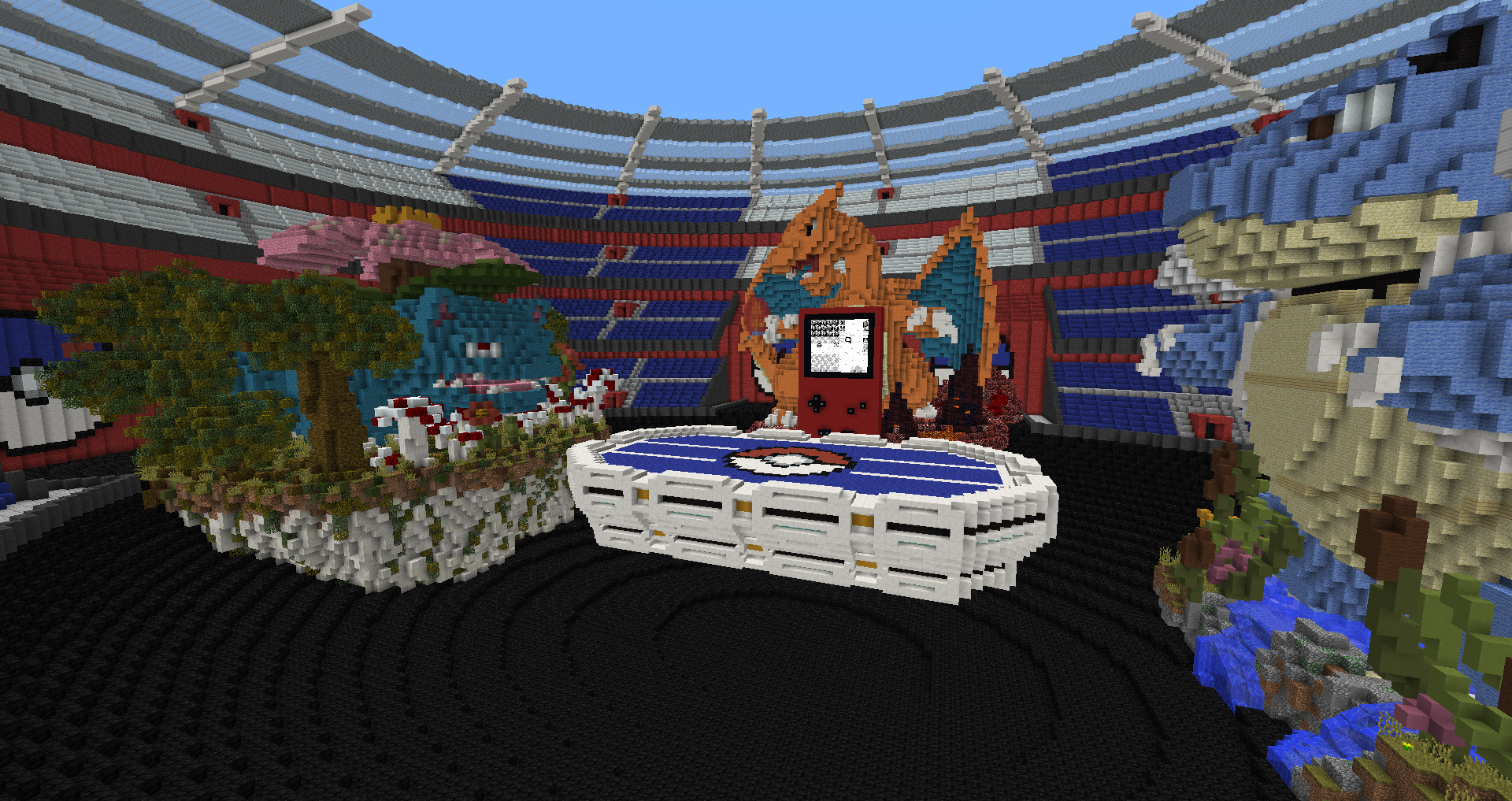 Pokemon Rouge dans Minecraft