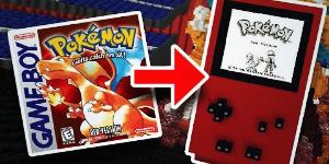 Pokémon Rouge intégralement recréé dans Minecraft !