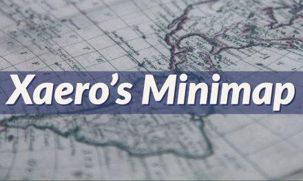 Xaero's Minimap – Mod – 1.7.10 → 1.16.5 / 1.17.1