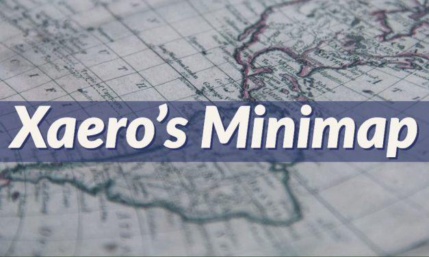 Xaero's Minimap – Mod – 1.7.10 → 1.16.5