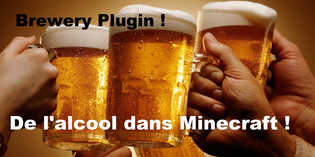 Découvrez Brewery, le plugin qui ajoute de l'alcool !