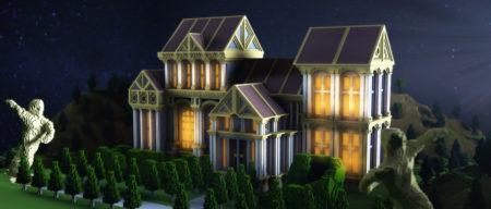 Minecraft Celtic Manor (Minecraft.net)