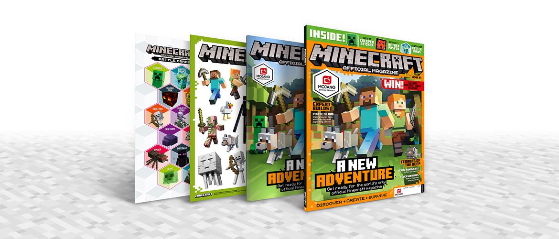 Minecraft, le magazine officiel bientôt disponible !