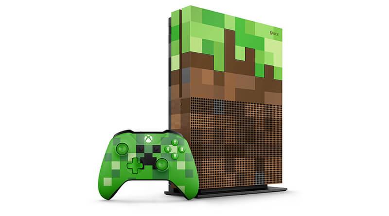 Sortie de l'Xbox One S Minecraft Edition annoncée !