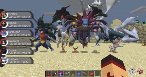 Mod] Pixelmon Reborn • Minecraft fr